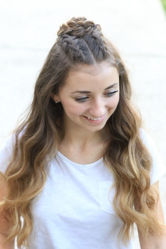 Super Cute Hairstyles for Teen Girls