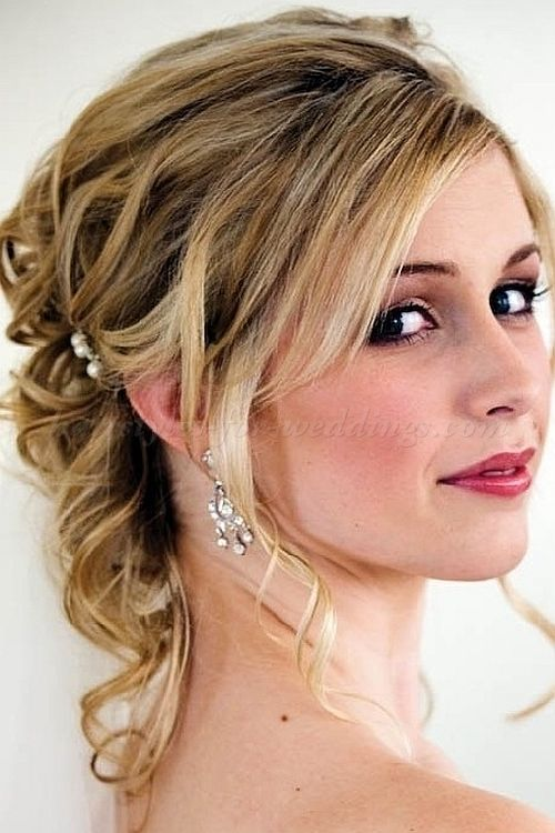 half updo for brides Hairstyles