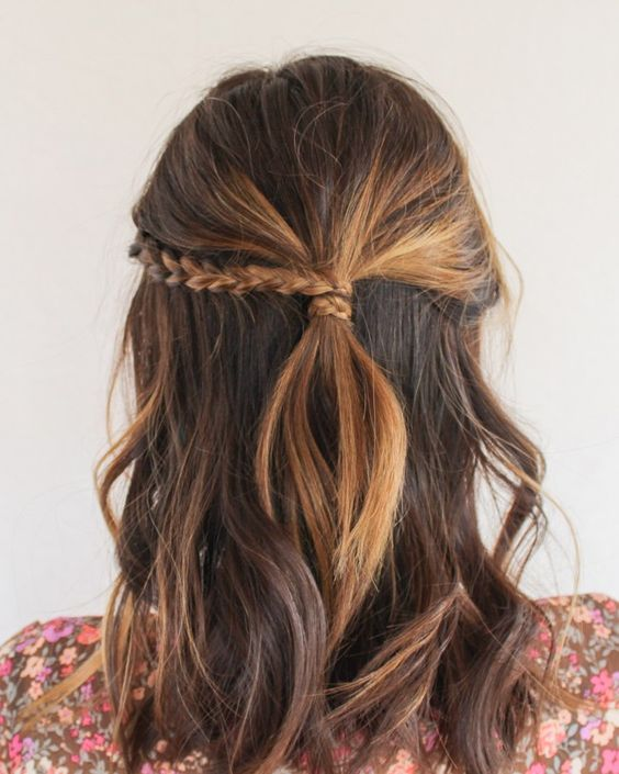 Chic Half-Up Hairstyles