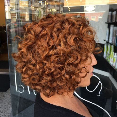 55 Different Versions of Curly Bob Hairstyle