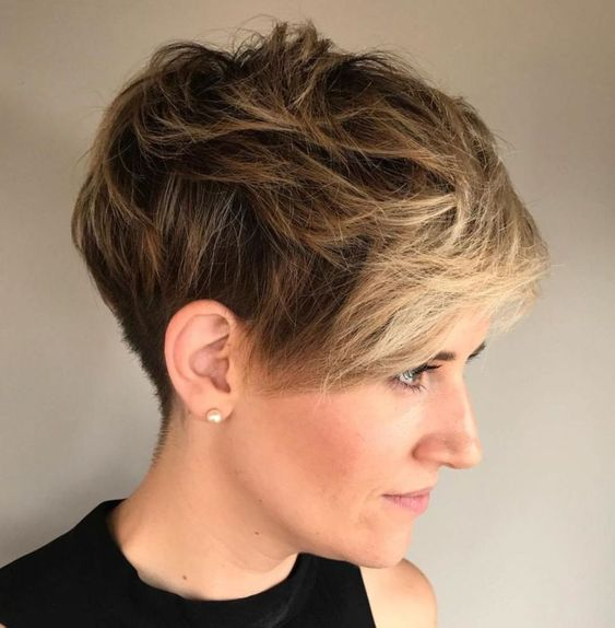 Edgy Pixie Cuts and Hairstyles