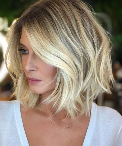 Exceptional Short Blonde Bob Haircuts 2019