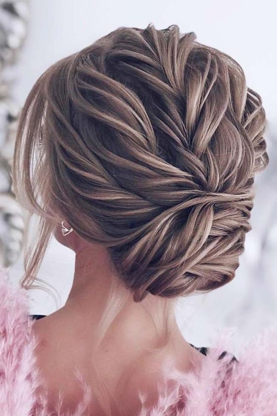 Gorgeous Updo Braided Hairstyles 2018