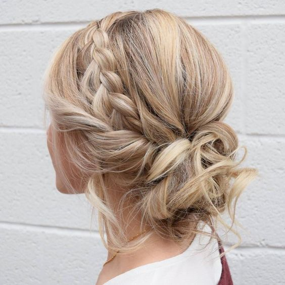 Gorgeous Updo Braided Hairstyles