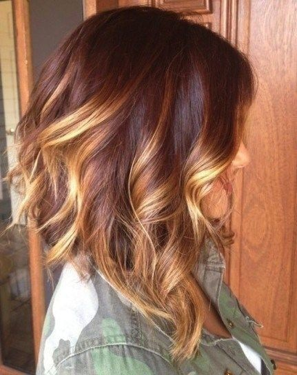 Pretty Layered Hairstyles for Medium Hair