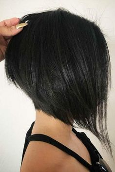Right Short Bob Haircuts