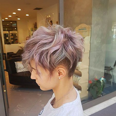 Stylish Pixie Undercut Hair