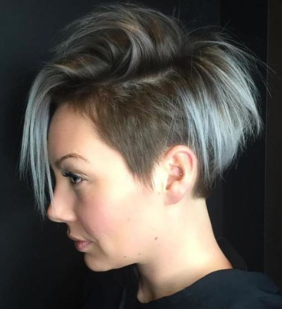 Undercut Short Pixie Hairstyles