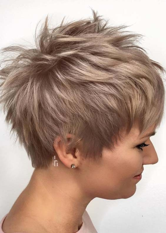 Unique Styles Of Pixie Haircuts