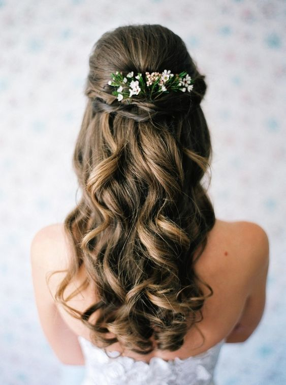 Ways to Wear Your Hair Down For Your Wedding