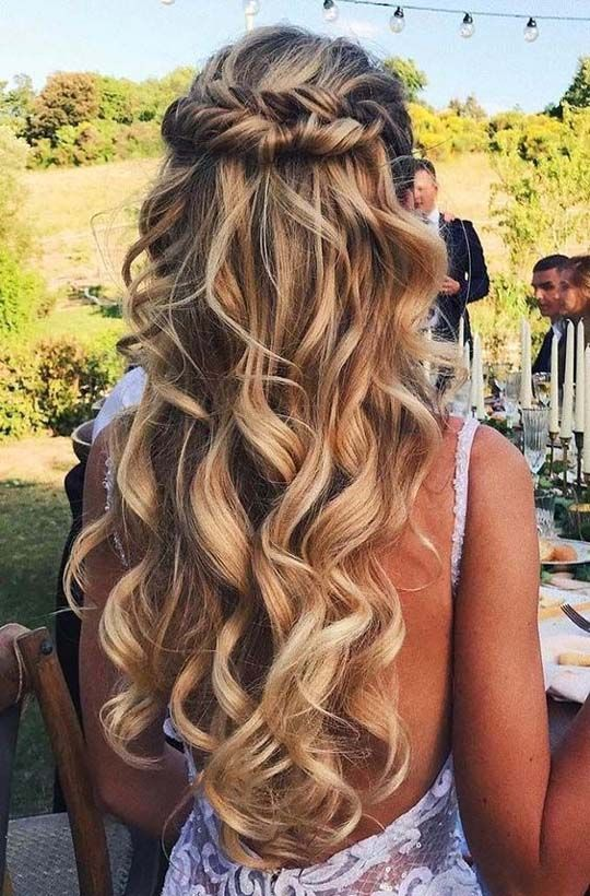 simple wedding hairstyles 2019