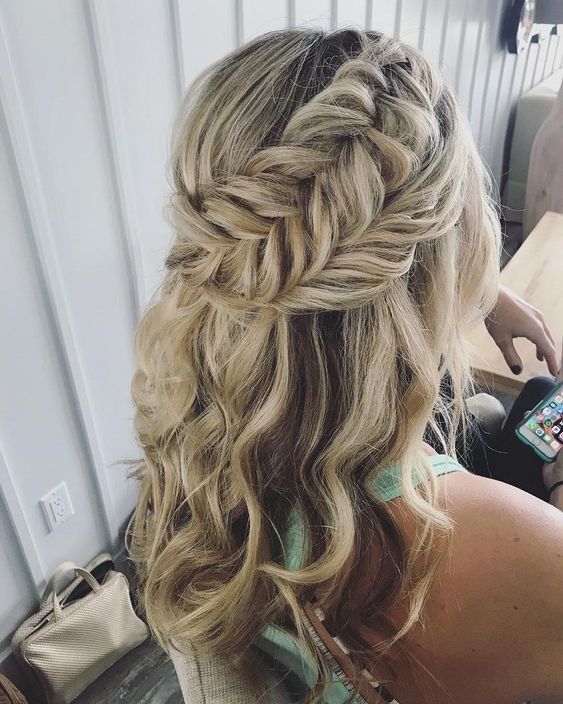 wedding hair for your wedding day