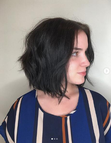 Perfectly undone textured lob