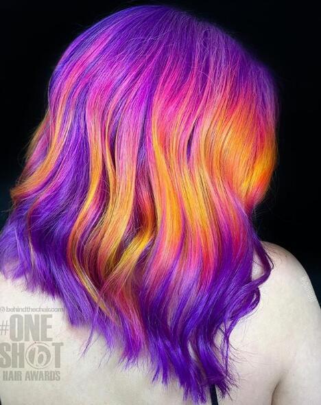 #unicorn hair