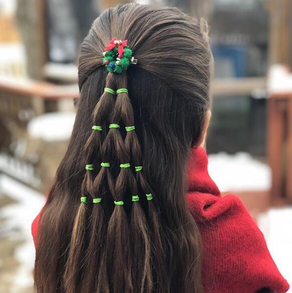 christmas braid