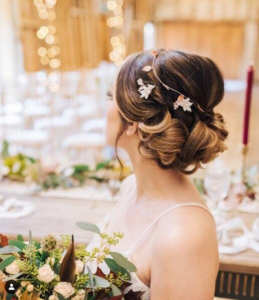 17 Gorgeous Wedding Updos For Brides In 2019: Best Bridal Updo Hairstyles Ideas To Try In 2020