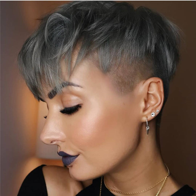Amazing Short Hairstyles That Make You Pretty-34