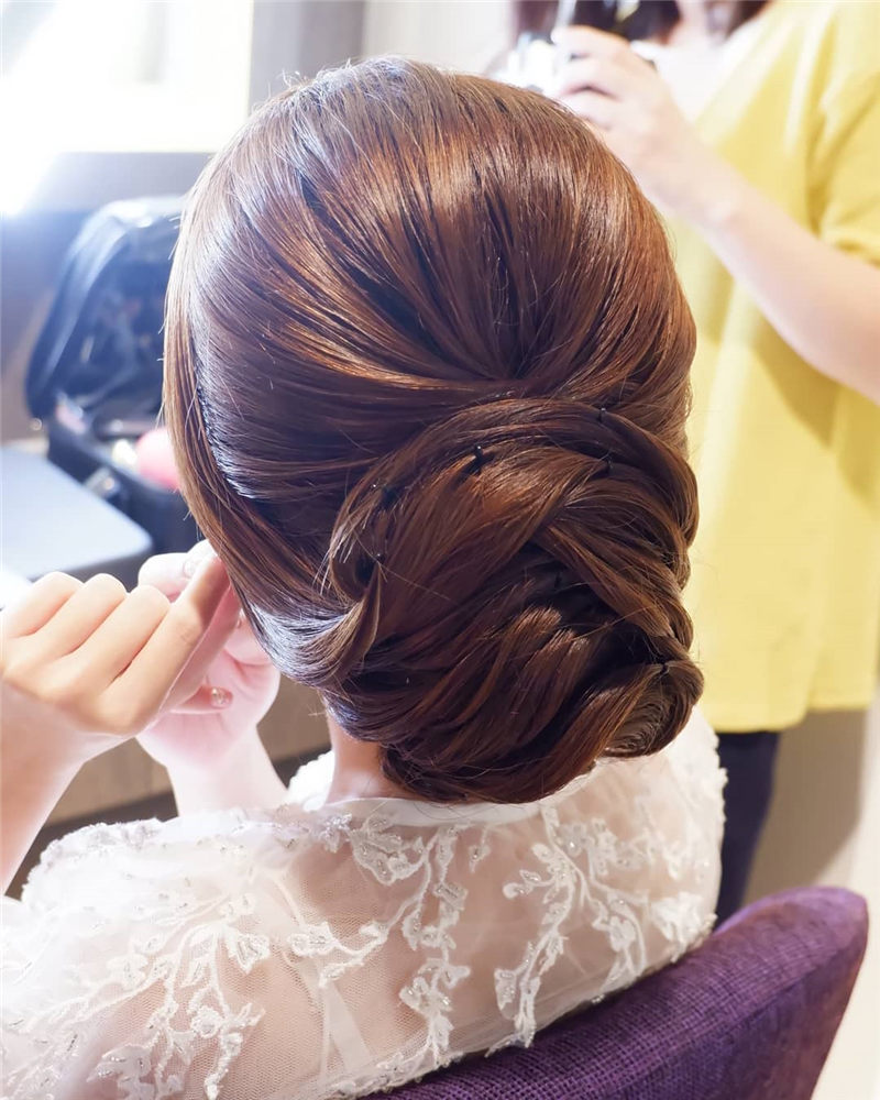 Amazing Wedding Hairstyles You'll Love For Big Day38