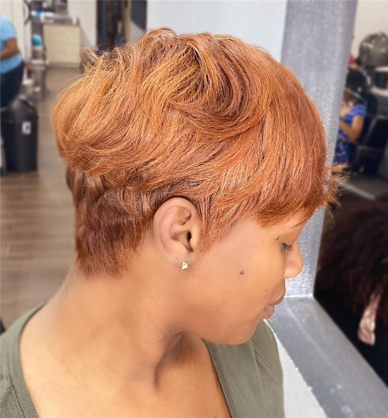 Best Short Haircuts to Inspire Your Prom Look-17