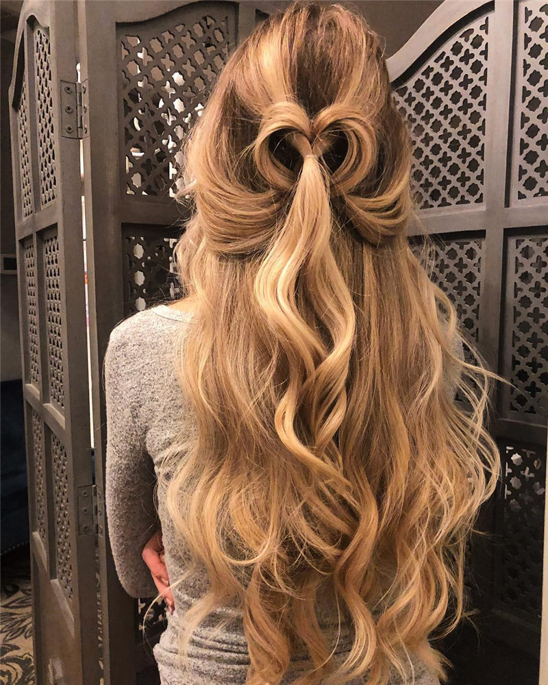 Best Valentine's Day Hairstyles For Girls for Whatever You Have Planned-38