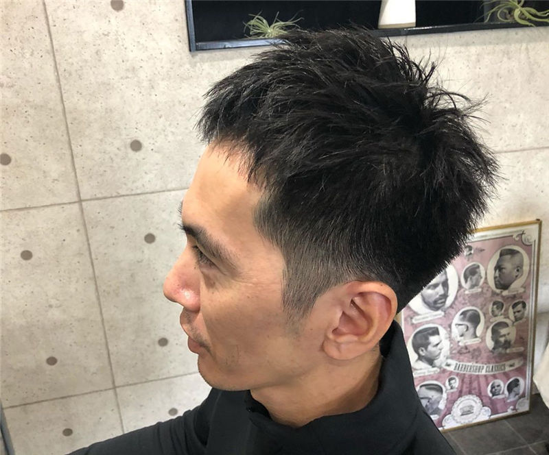 Cool Short Haircut for Men with Highlight in 2020-16