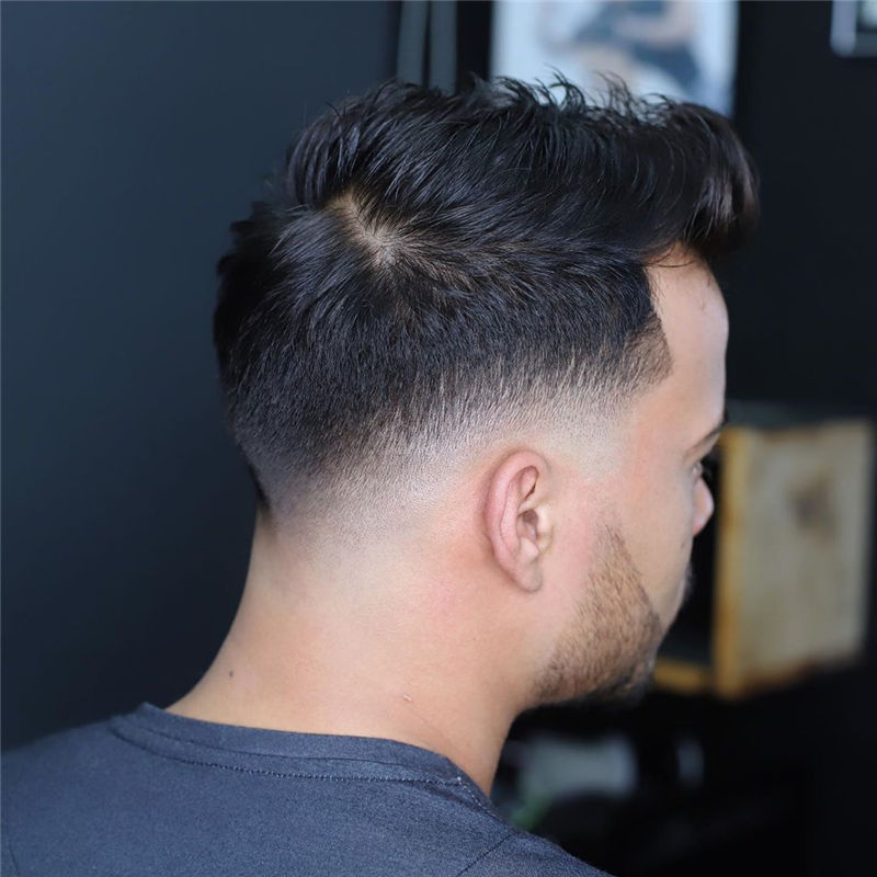 Cool Short Haircut for Men with Highlight in 2020-35