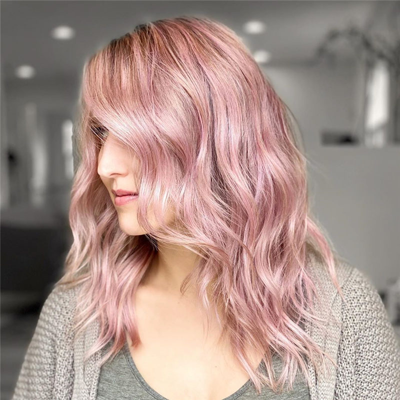 Cute Pink Hair Ideas for Spring 2020-22