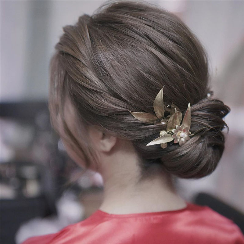 Gorgeous Wedding Hairstyles You May Like-01