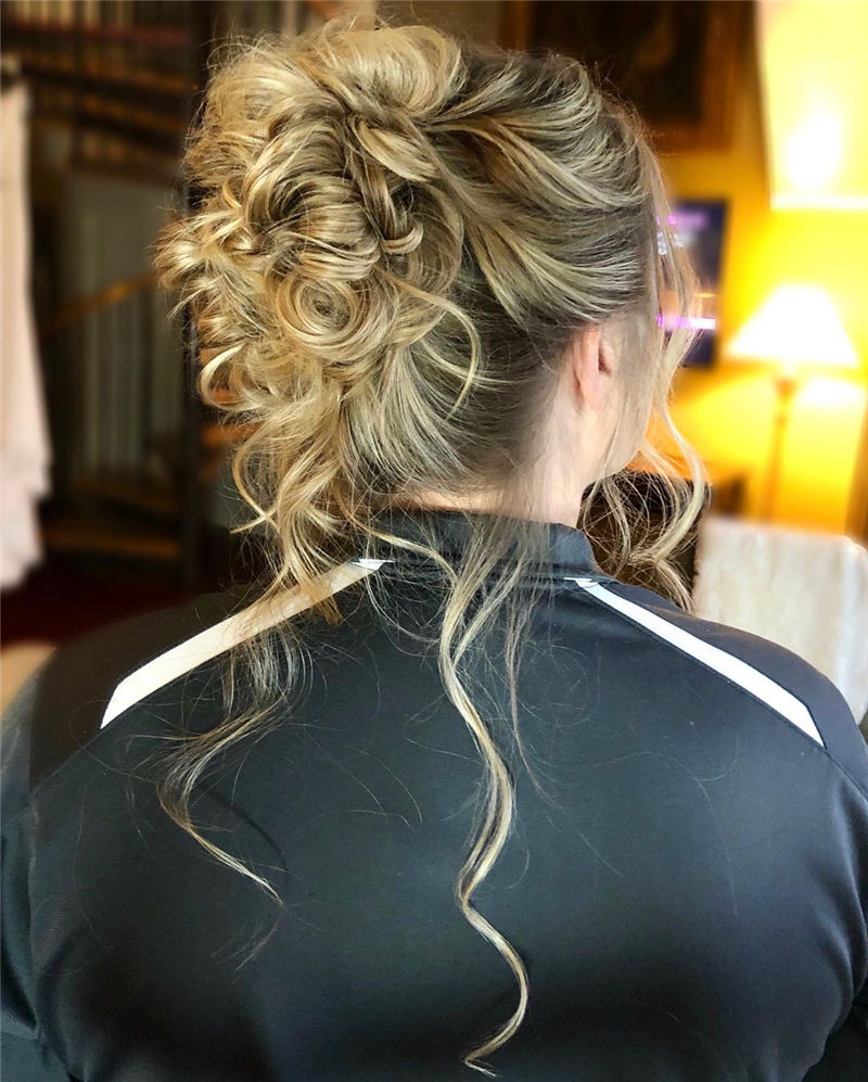 Gorgeous Wedding Hairstyles You May Like-17