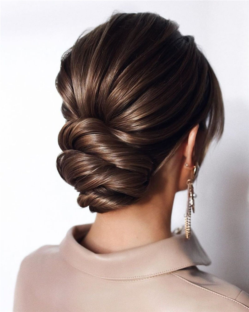 Gorgeous Wedding Hairstyles You May Like-21