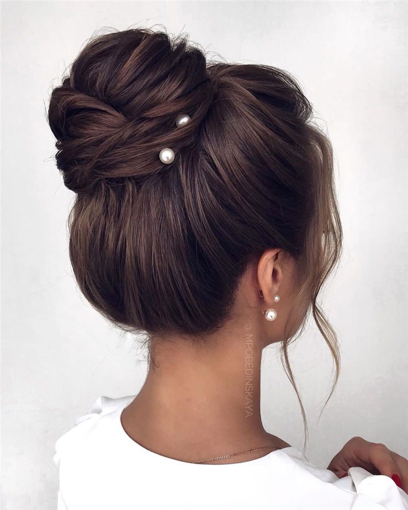 Gorgeous Wedding Hairstyles You May Like-23