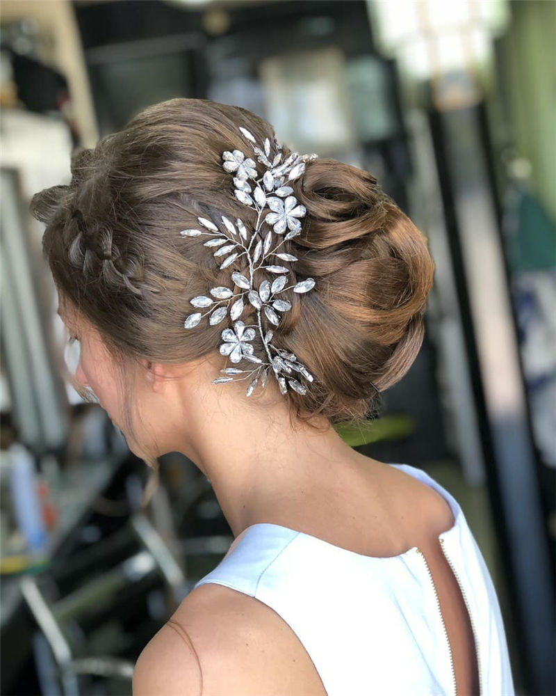 Gorgeous Wedding Hairstyles You May Like-28