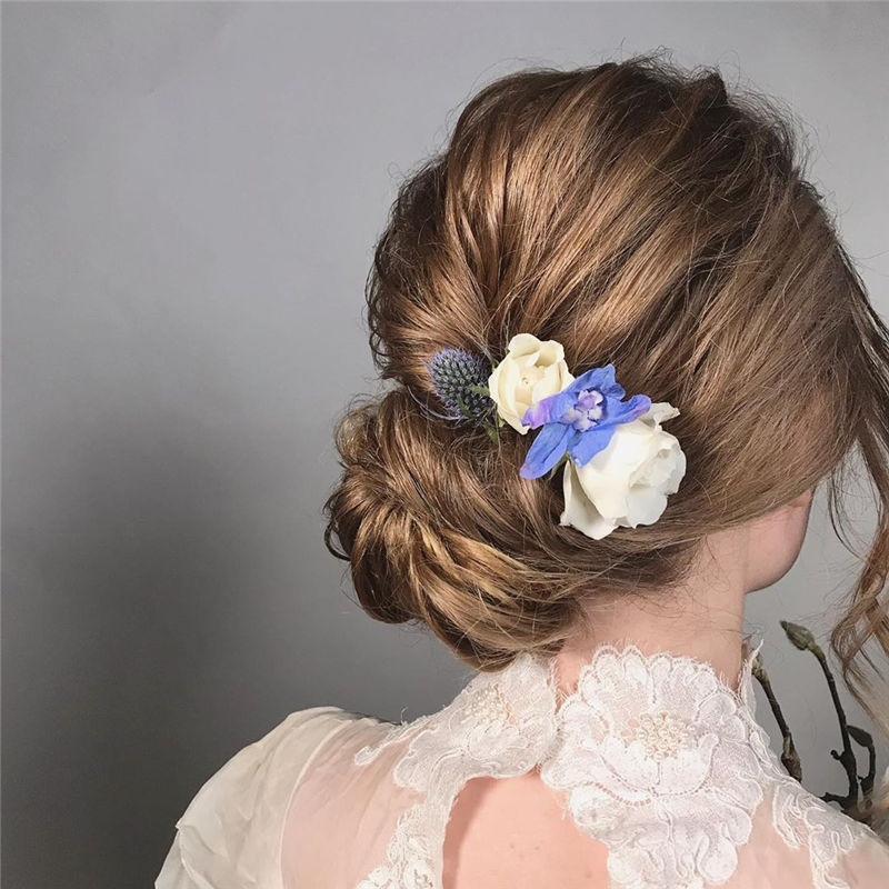 Gorgeous Wedding Hairstyles You May Like-29