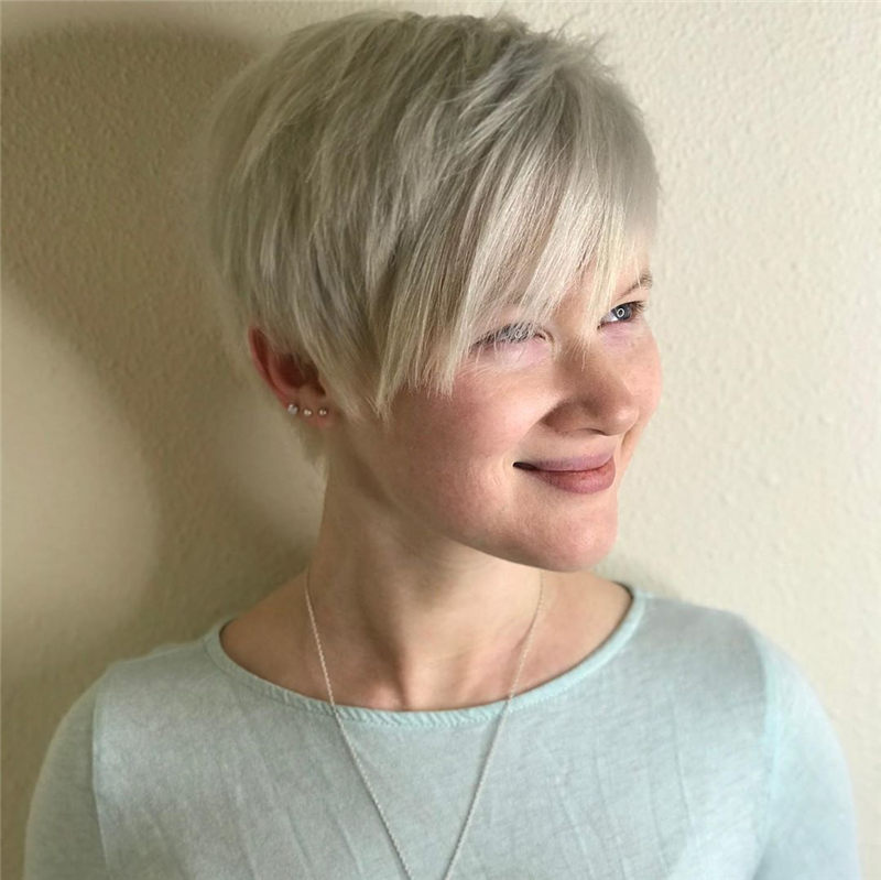 Great Trendy Pixie Haircuts to Refresh Your Style-13