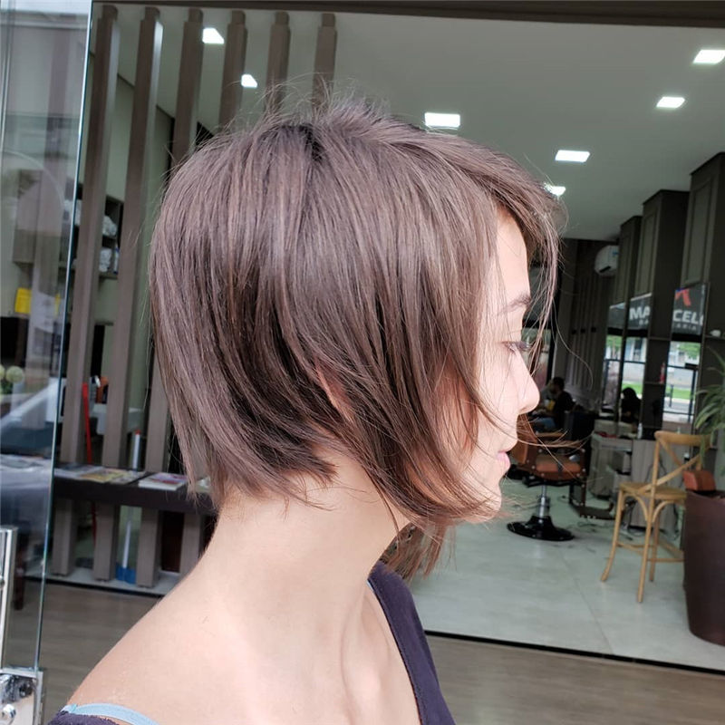 Popular Short Pixie Cut Hairstyles with Casual and Prom Looks-14