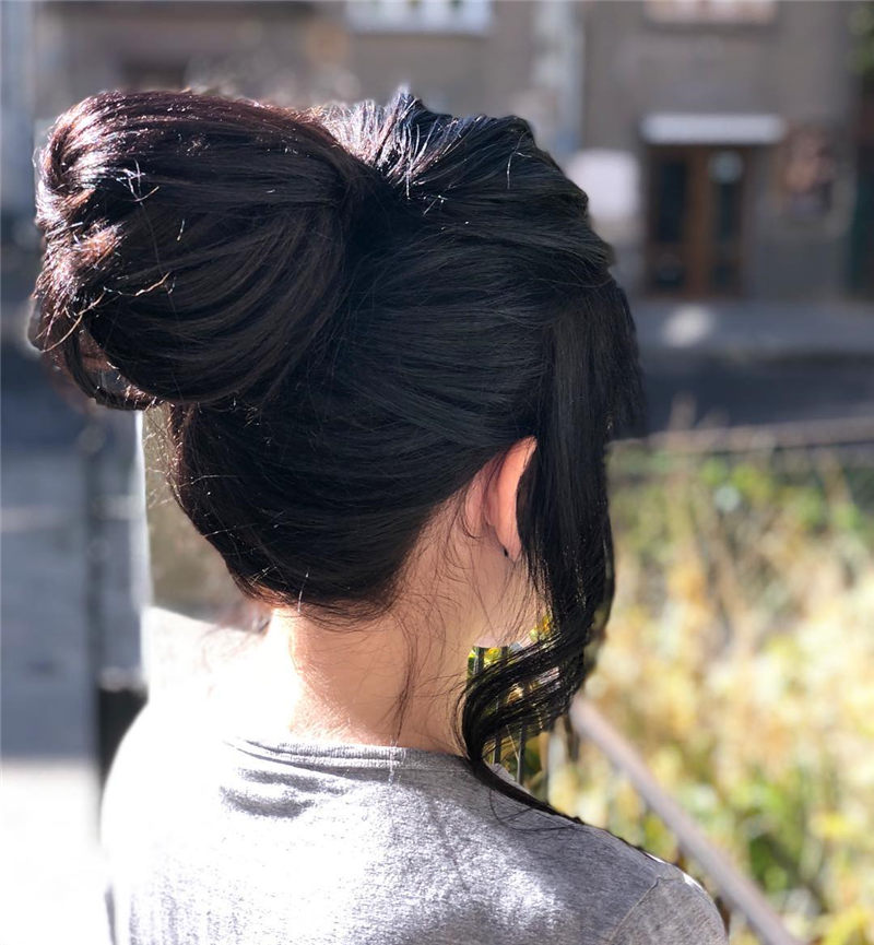Popular Work Hairstyles That Take No Time 2020-35