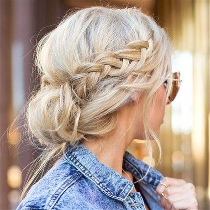 Popular Work Hairstyles That Take No Time 2020-38