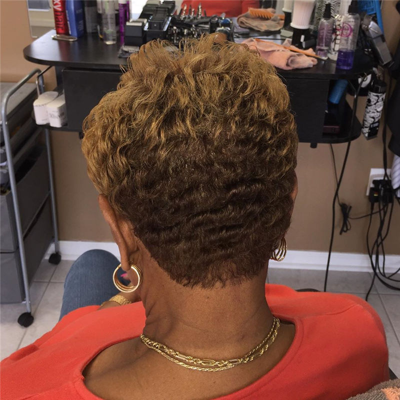 Sexy Short Haircuts For Black Women 2020-01