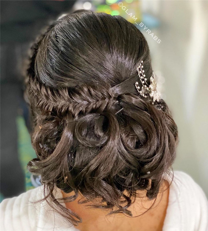 The Perfect Bridal Updo Hairstyles That You Will Totally Adore-04