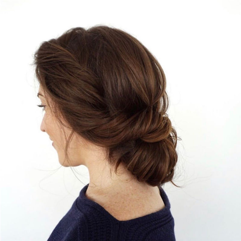 The Perfect Bridal Updo Hairstyles That You Will Totally Adore-13