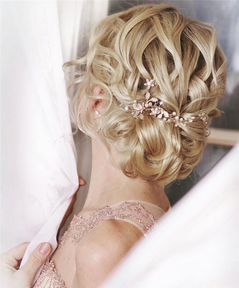 The Perfect Bridal Updo Hairstyles That You Will Totally Adore-15
