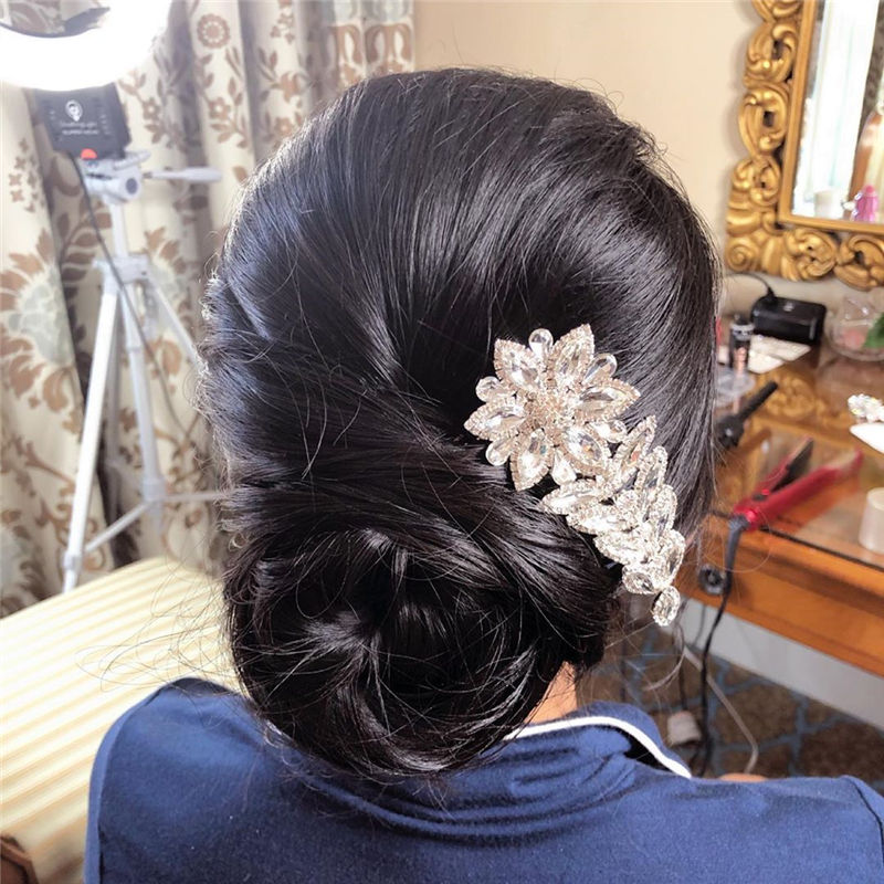 The Perfect Bridal Updo Hairstyles That You Will Totally Adore-22