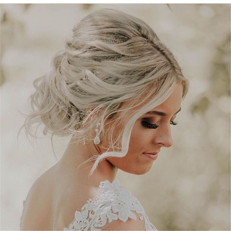The Perfect Bridal Updo Hairstyles That You Will Totally Adore-36