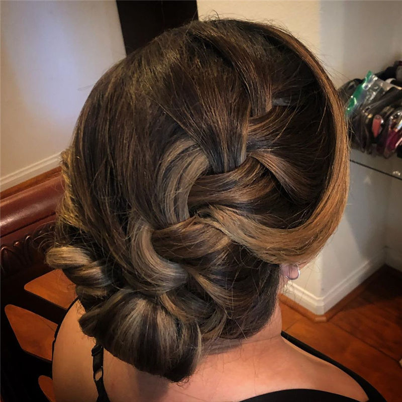 Top Sexy Updo Braided Hairstyles in 2020-01