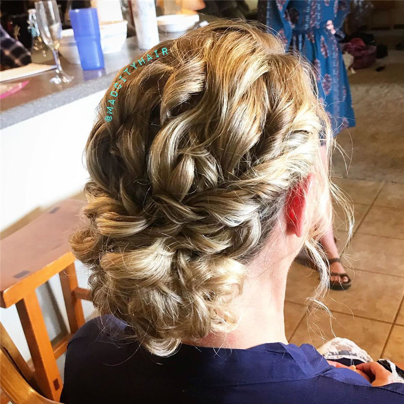 Top Sexy Updo Braided Hairstyles in 2020-17