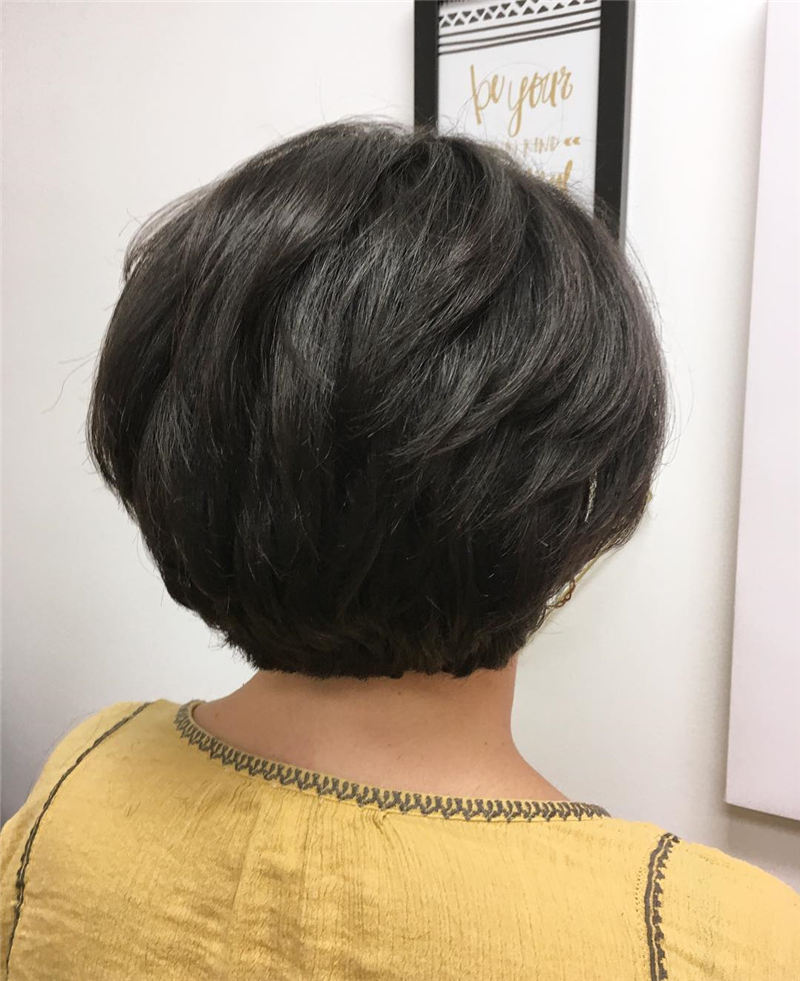 Best Short Hairstyles for Thick Hair Only for You01