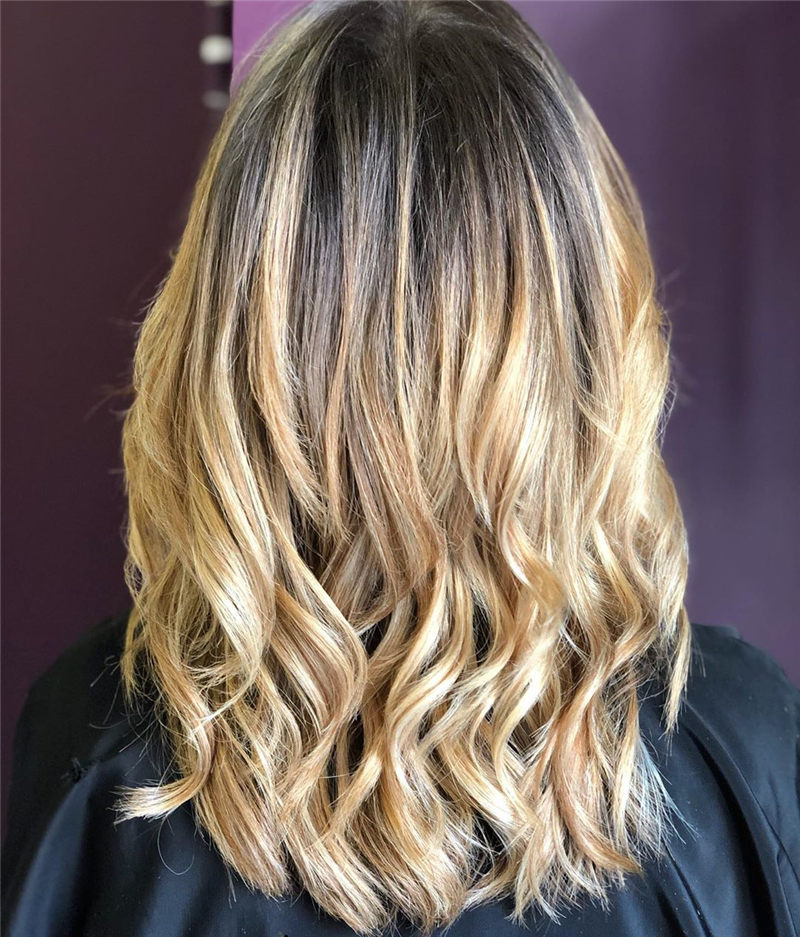 Chic Wavy Hairstyles You Can Do Yourself-08