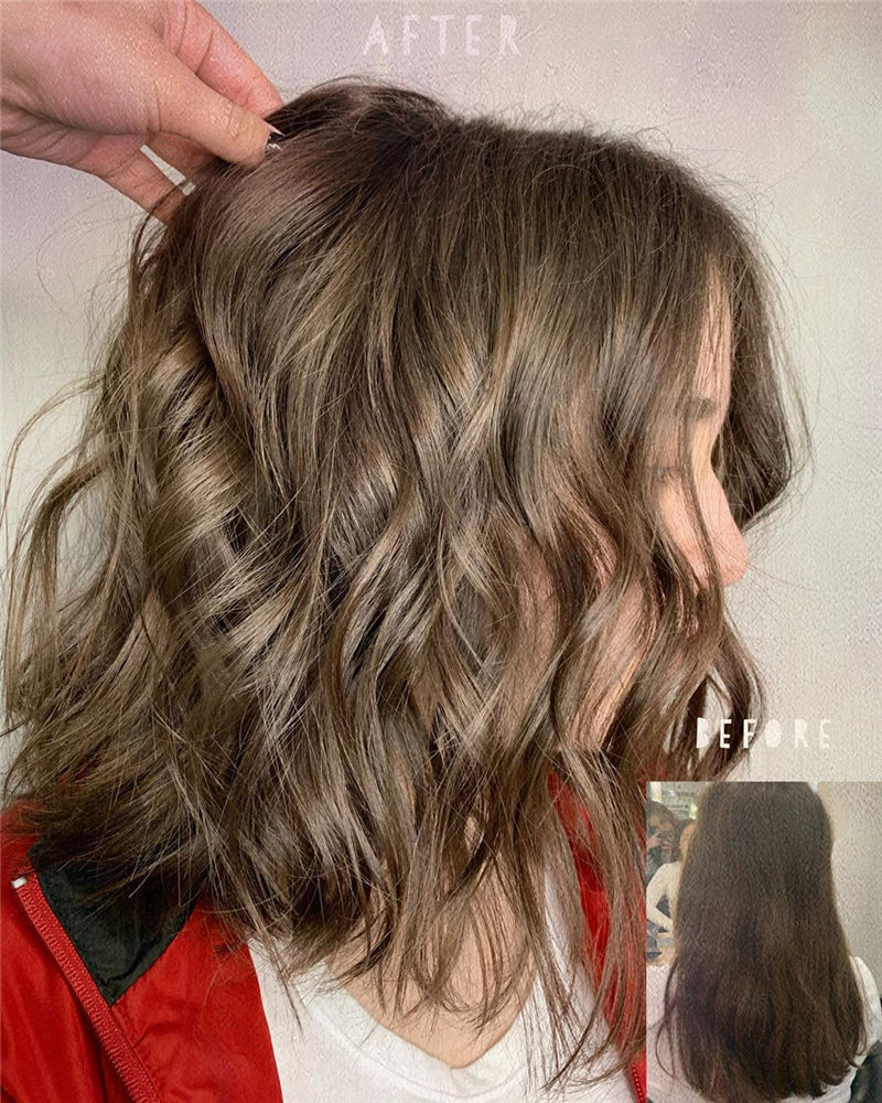 Chic Wavy Hairstyles You Can Do Yourself-26