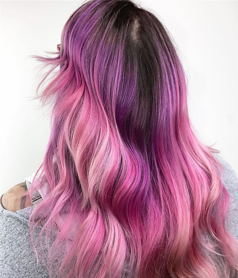 Cute Pink Hair Ideas That You'll Want To Get-01