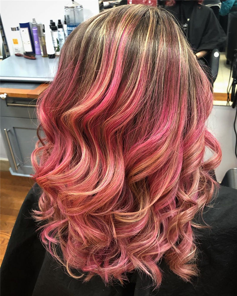 Cute Pink Hair Ideas That You'll Want To Get-02